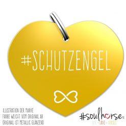 """""""Schutzengel"""" Herz gold"""