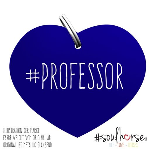 Professor Herz blau