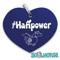 #Hafipower Herz blau