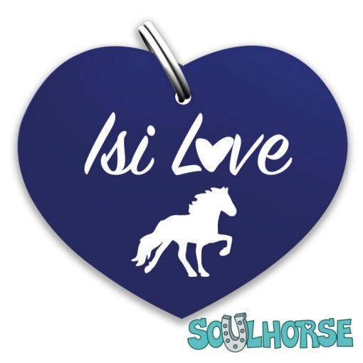 Isi-Love Herz blau