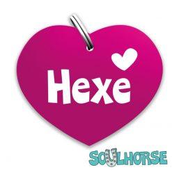 """""""Hexe"""" Herz pink"""