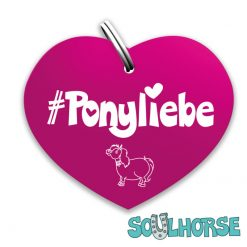 """""""Ponyliebe"""" Herz pink"""