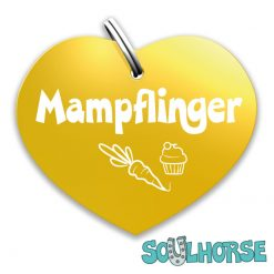 """""""Mampflinger"""" Herz gold"""