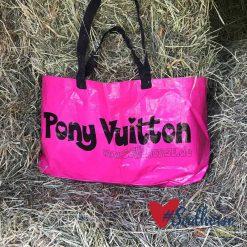 Pony Vuitton Tasche pink