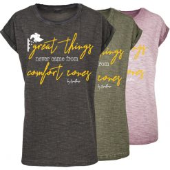"""Great things"" T-Shirt im used Look"