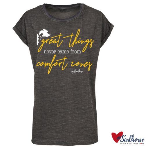 """""""Great things"""" T-Shirt im used Look"""