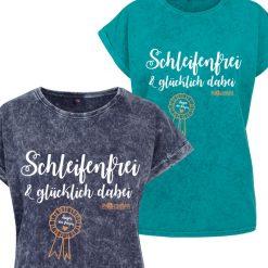"""""""Schleifenfrei"""" T-Shirt im Used Look"""