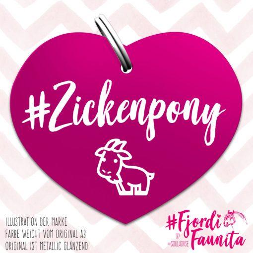 """""""Zickenpony"""" Marke Fjordi Faunita"""