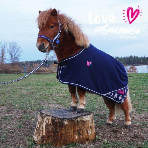 """Love Soulhorse"" Abschwitzdeckefür Shettys & Minishettys"