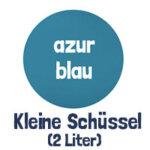 azurblau 2 Liter