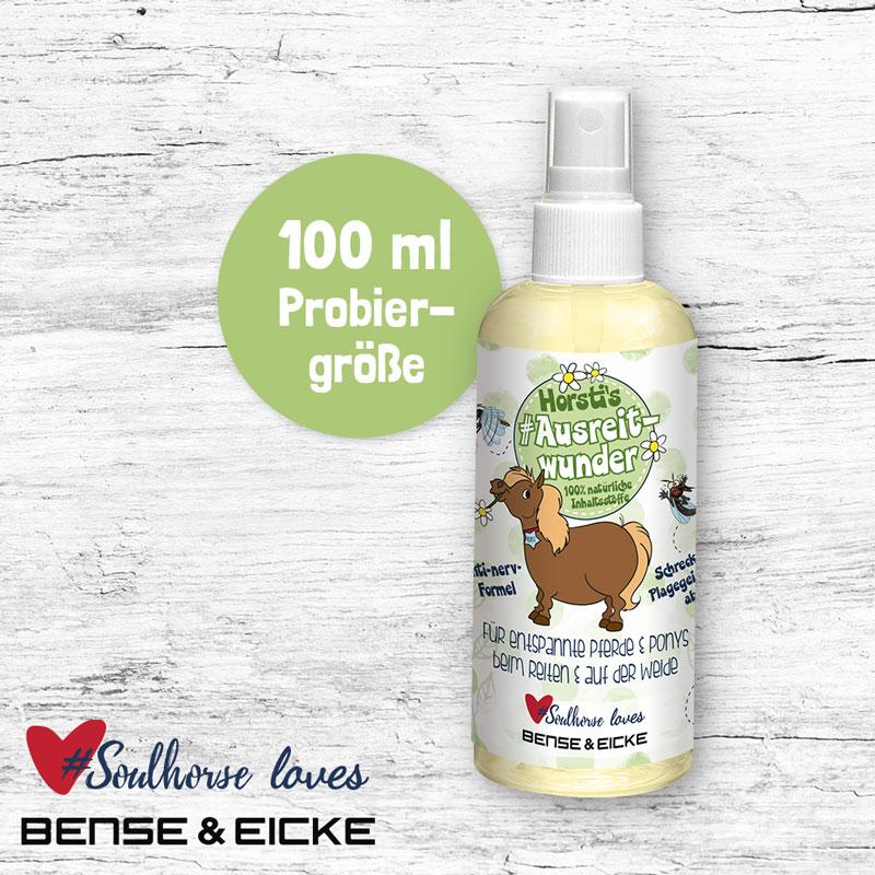 """Probierflasche """"Ausreitwunder"""" 100 ml"""