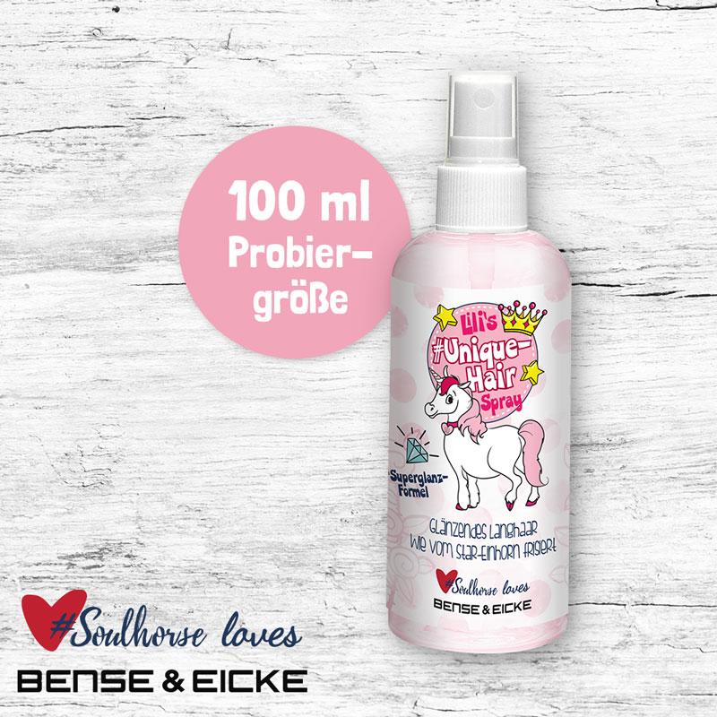 """Probierflasche """"Unique Hairspray"""" 100 ml"""